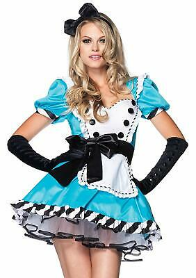 Alice in Wonderland Costume Adult Halloween Fancy Dress