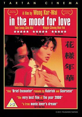 IN THE MOOD FOR LOVE (DVD, 2001)