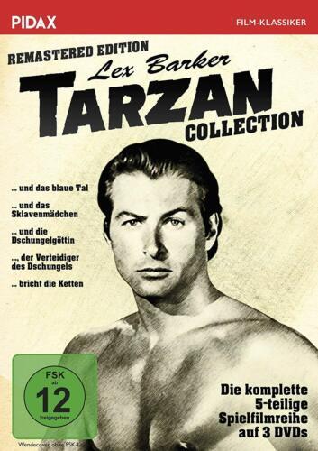 Tarzan - Lex Barker Collection / Remastered Edition * DVD Abenteuer * Pidax
