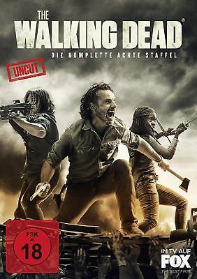 THE WALKING DEAD 8 DIE KOMPLETTE STAFFEL / SEASON 8 UNCUT DVD DEUTSCH