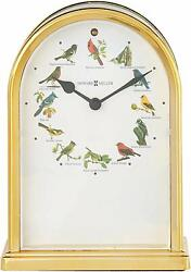 Howard Miller Songbirds of North America III Table Clock 645-40–Musical Chimes