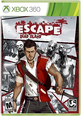 New Sealed Escape Dead Island X360 Microsoft Xbox 360 Adventure Zombie Game