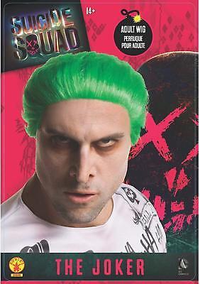 Joker Suicide Squad Halloween Costume Wig,Joker Costume Wig,Pairs w/Harley Quinn - Halloween Costume Pairs