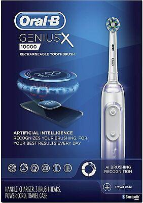 Oral-B Genius X Cepillo de Dientes Eléctrico [Braun 3 Recambio Cabeza &...