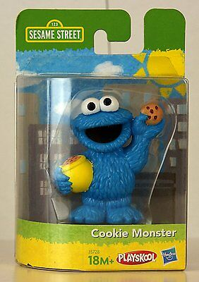SESAMSTRASSE SEASAMSTREET KRÜMELMONSTER COOKIE MONSTER FIGUR PLAYSKOOL HASBRO