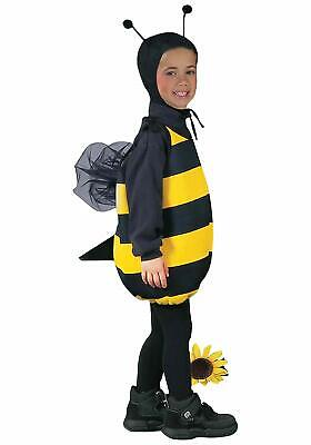 Honey Bee Tunic Bumble Animal Insect Unisex Fancy Dress Halloween Child Costume - Male Bee Costume
