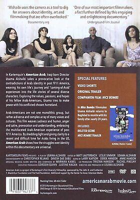 American Arab: Award-Winning Indie Movie Film DVD - Factory-Sealed NEW ($1 SHIP)