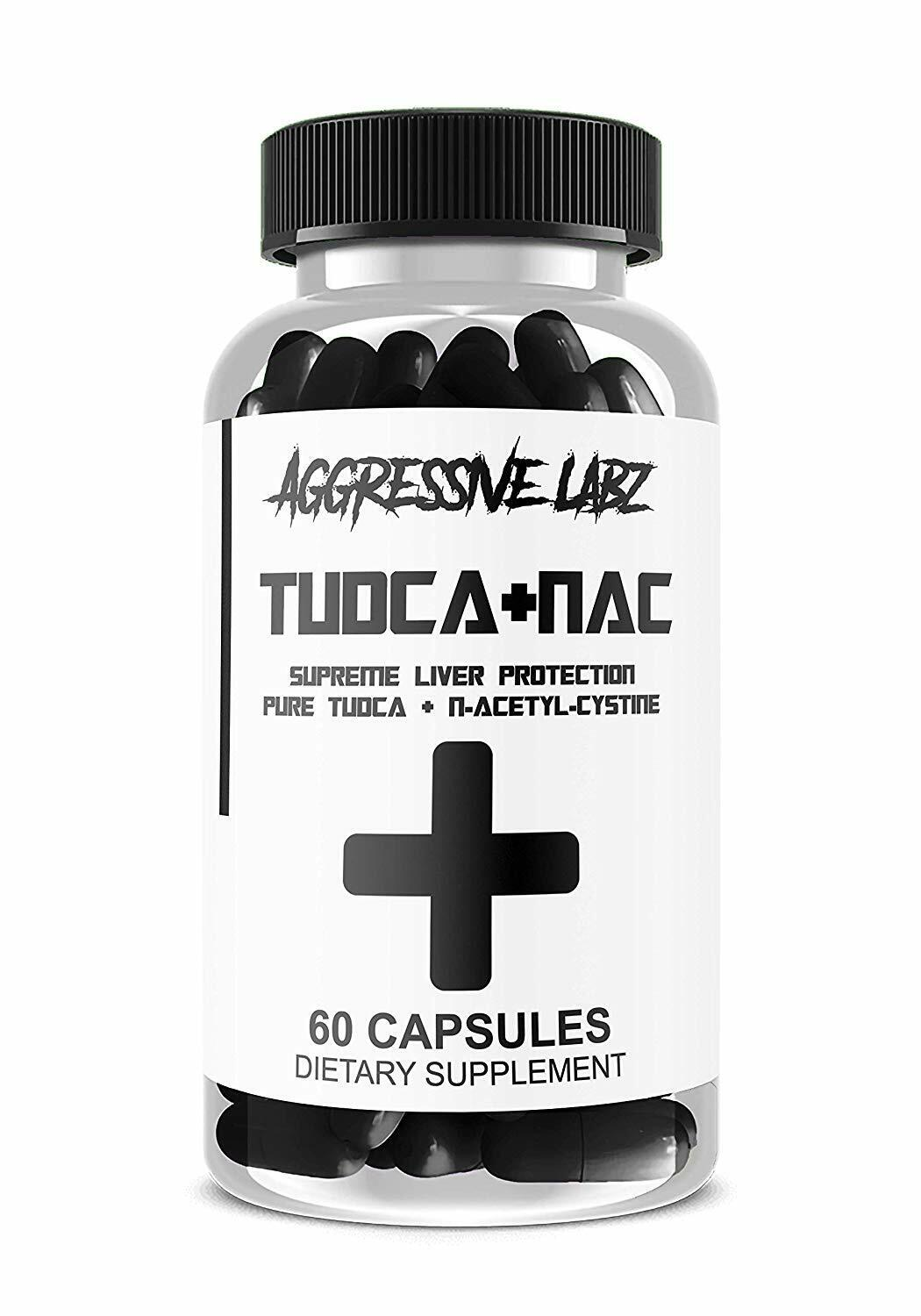 Aggressive Labz TUDCA + NAC - Potent Liver Support with N-Acetyl-Cystine 60ct