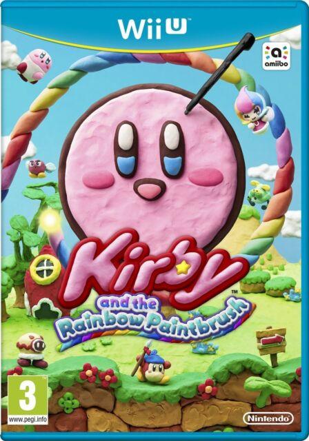 Kirby and the Rainbow Paintbrush Nintendo WiiU Wii U PAL Brand New