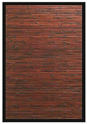 Anji Mountain COBBLESTONE Bamboo Area Rug 2 x 3 AMB0085-0023 Bamboo Rug NEW