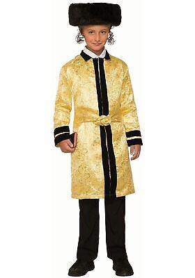 Forum Novelties Party Supplies 80531 Gold Bekitcha Child's Costume, Medium, Gold (Religious Halloween Party)