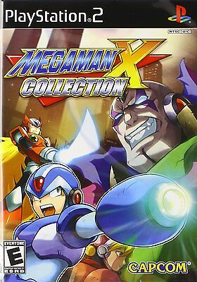Mega Man X Collection  Sony Playstation 2  2006 Brand New