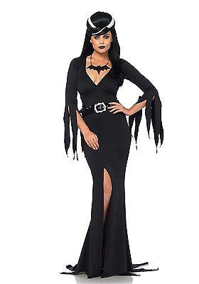 Leg Avenue Elvira Immortal Mistress Of The Dark Adult Halloween Costume 85571