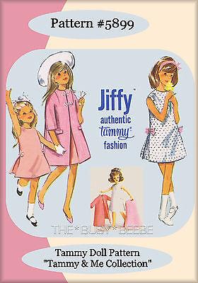 Tammy Doll Pattern Set (Tammy & Me Collection 1960's) Set of 4