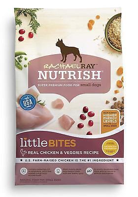 Rachael Ray Nutrish Little Bites Natural Dry Dog Food w/Farm Raised chicken 14lb