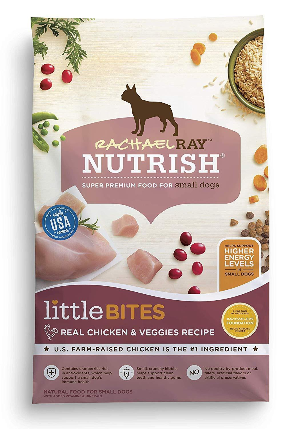 Rachael Ray Nutrish Little Bites Small Breed Natural Dry Dog