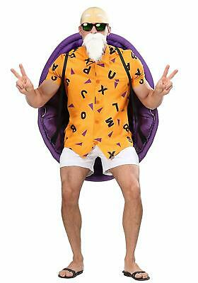 Dragon Ball Halloween Costumes (Dragon Ball Z Master Roshi Men's Costume Halloween Cosplay Party Funny)