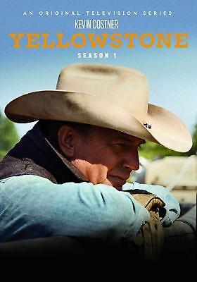 Yellowstone: First Season 1 One (DVD, 2018, 4-Disc Set) NEW, Ships First Class!!