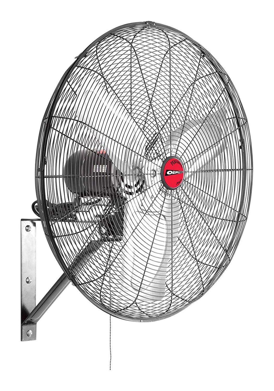 Wall Mount Fan 30 Inch Oscillating Indoor Garage Shop Coolin