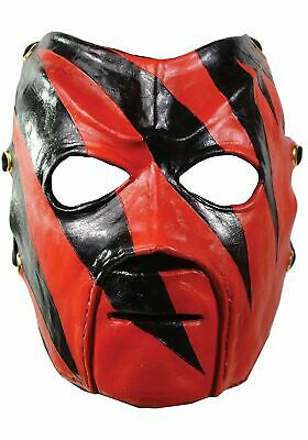 Kane Mask Adult WWF WWE Wrestler Pro Wrestling Halloween Costume Gift Face - Wrestling Halloween Costume