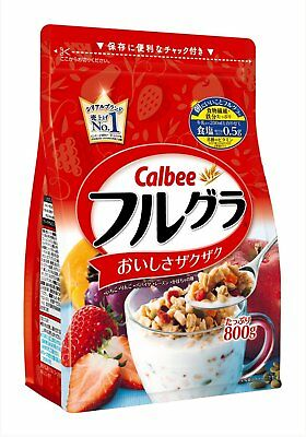 Calbee Fruit granola 800g Popular Cereals Granola F/S Japan Import