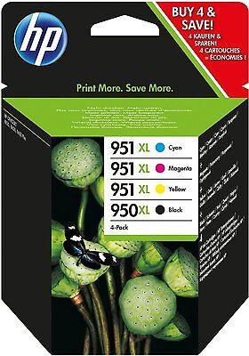 HP 4X 950 XL 951 XL Drucker Patrone Sparset Officejet Pro 8100 C2P43AE