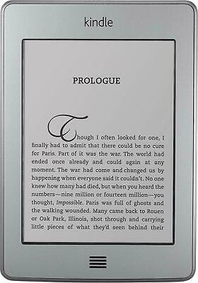 Amazon Kindle Touch - 4th Generation - Wi-Fi - 4GB - 6in - Tablet E-Reader