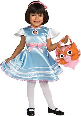 Dora The Explorer Halloween Costume, Dress / Dora in Wonderland - Toddler - Dora Halloween Dress