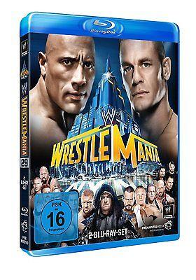 WWE WrestleMania 29 XXIX 2013 [2x Blu-ray] DEUTSCH *NEU* The Rock vs. John