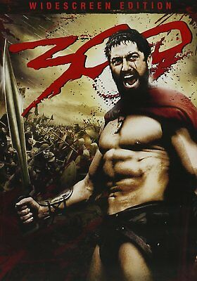 300 (DVD, 2007, Widescreen) THREE HUNDRED THE MOVIE  Gerard Butler Vincent Regan - 300 The Movie