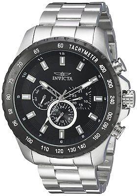 Invicta 24210 Men's Speedway Chronograph 48mm Black Dial Watch