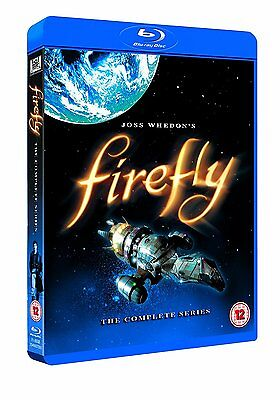 Firefly: The Complete Series (Blu-ray, 3 Discs, Region Free) *NEW/SEALED*