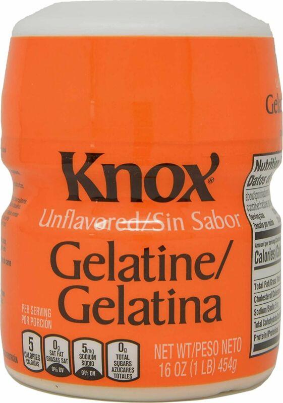 Knox Unflavored Gelatin / Gelatine, 1 Pound