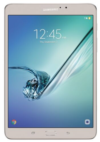 Samsung Galaxy Tab S2 8.0 32GB Tablet 3GB Wi-FI 8mp SM-T713NZDEXAR Gold