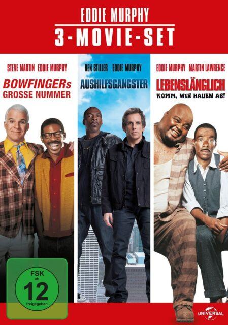EDDIE MURPHY-3 MOVIE SET  3 DVD NEU
