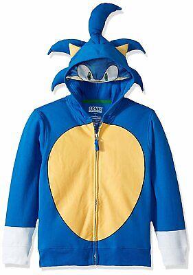 Sega Kids' Sonic The Hedgehog Costume Hoodie](Sonic Kids Costume)