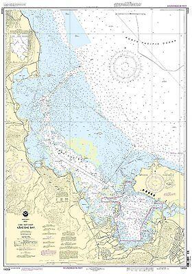 NOAA Chart Oahu East Coast Kaneohe Bay 12th Edition 19359