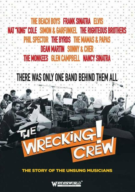 THE WRECKING CREW - NEW DVD