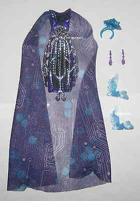 Monster High Boo York Elle Eedee Doll Outfit ONLY Clothes Earrings Shoes Lot NEW