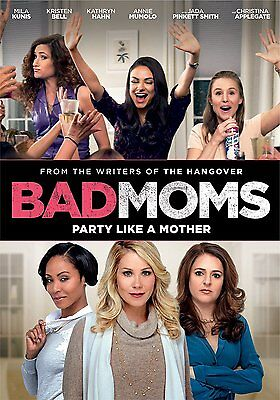 Bad Moms Dvd New   Free First Class Shipping