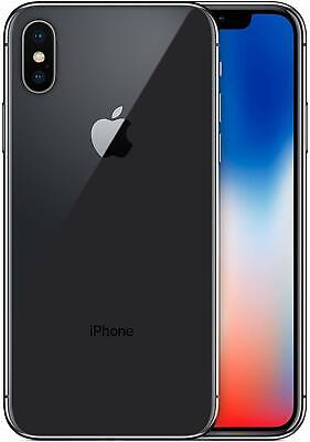 Apple iPhone X 4G LTE Cell Phone 5.8″ Space Gray 64GB 3GB RAM