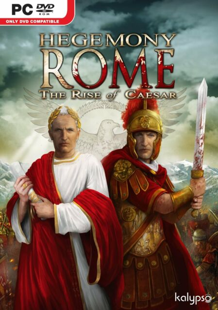 Hegemony Rome: Rise of Ceasar (PC DVD) BRAND NEW SEALED
