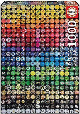 Chapas de Colores, Collage, Educa 19026, Arte,.1000 piezas