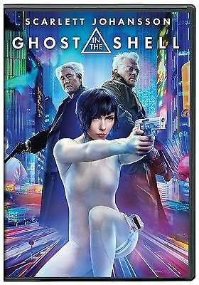 Ghost in the Shell (DVD 2017)NEW* Action, Drama* NOW SHIPPING !