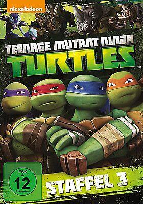 4 DVDs * TEENAGE MUTANT NINJA TURTLES - SEASON / STAFFEL 3 ~ MB # NEU OVP + (Teenage Mutant Ninja Turtles 3)