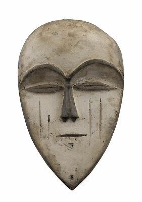 Masquette Mask Pasport African Vuvi Gabon Wood 14.5cm Art First 16668