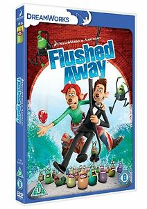FLUSHED AWAY - DVD FILM