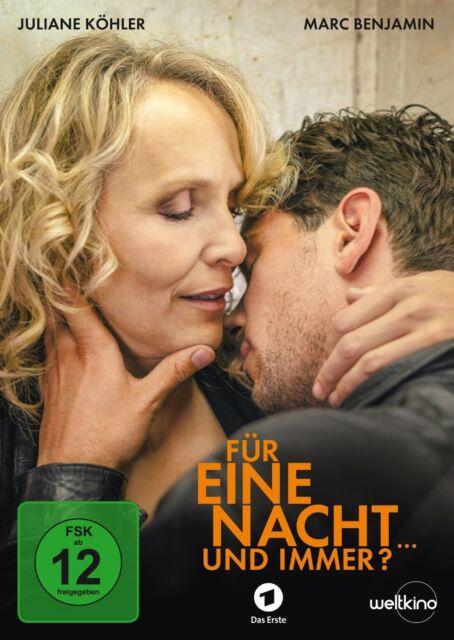 JULIANE KÖHLER/MARC BENJAMIN/+ - FÜR EINE NACHT ... UND IMMER?  DVD NEU