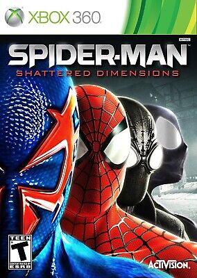 Spider-Man: Shattered Dimensions (Microsoft Xbox 360, 2010)