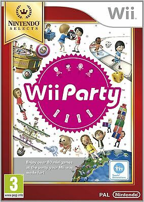 Wii Party Nintendo Selects Wii Brand New Sealed Official
